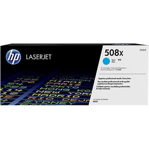 HP 508X Toner cartridge cyaan 9.5000 paginas hoge capaciteit