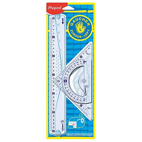 Geometric Kit 30 cm 3-delig voor linkshandigen