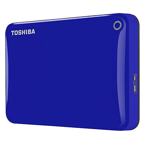 Canvio Connect II 2TB blue