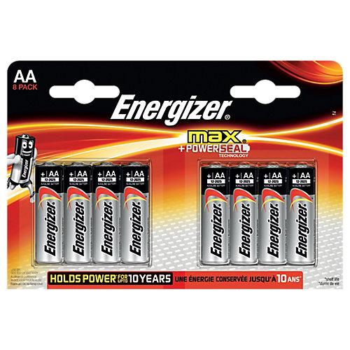 Energizer Max LR06 AA batterij (penlite) Alkali-mangaan 1.5 V 8 stuks