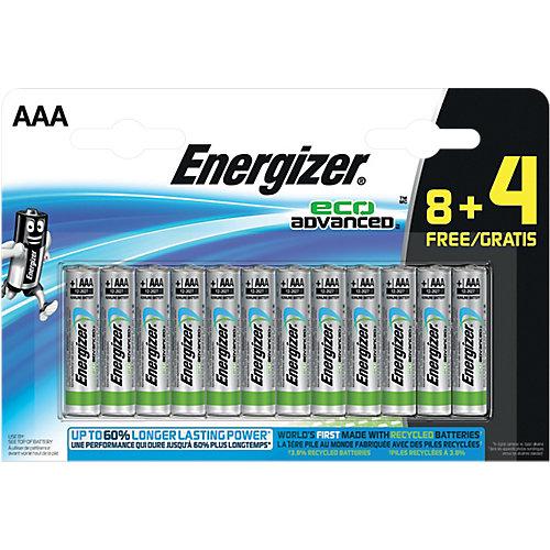Energizer Batterijen AAA Eco Advanced 12 Stuks