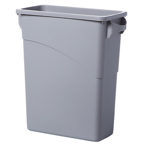 Rubbermaid Slim Jim - 60 l - Grijs