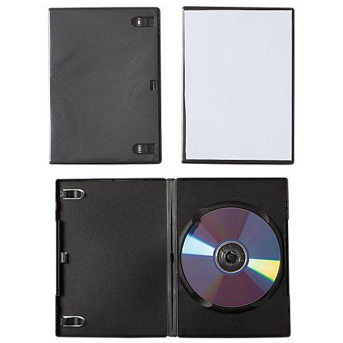 Fellowes DVD hoes - Zwart / 5 stuks