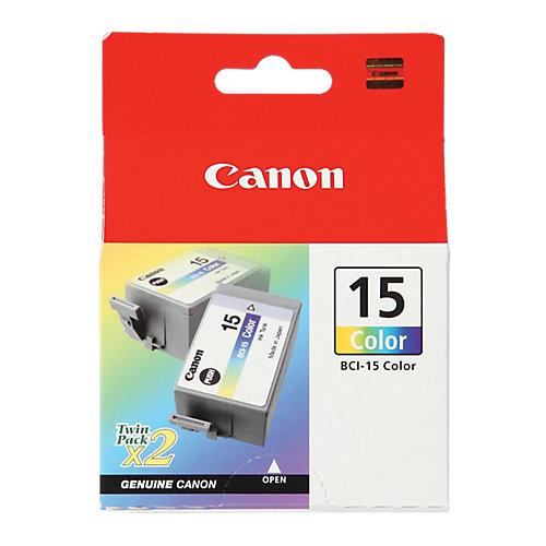 Canon Duppelpak inktreservoir »BCI-15 C«