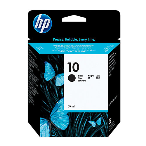 HP 10 Cartridge Zwart (C4844A)