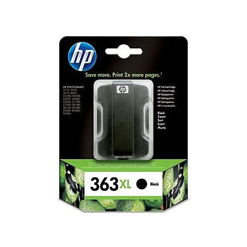 HP 363 - Inktcartridge / Zwart / Hoge Capaciteit
