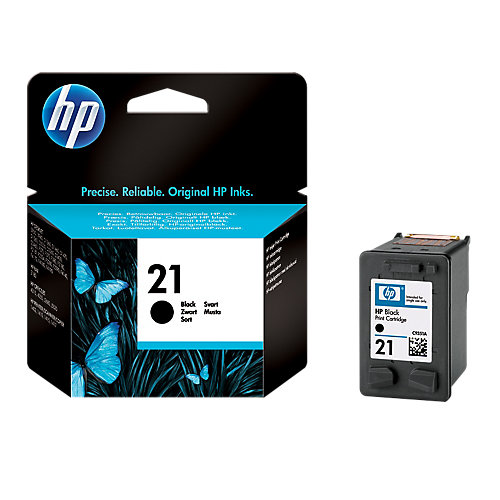 HP 21 Inkcartridge C9351AE Zwart