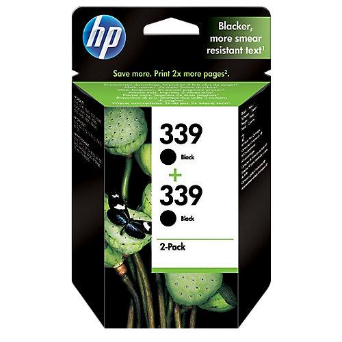 HP Dubbelpak inktpatronen »HP C9504EE« HP 339