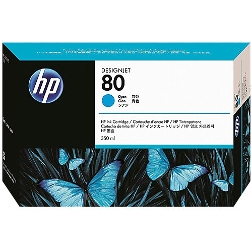 HP 80 - Inktcartridge / Cyaan