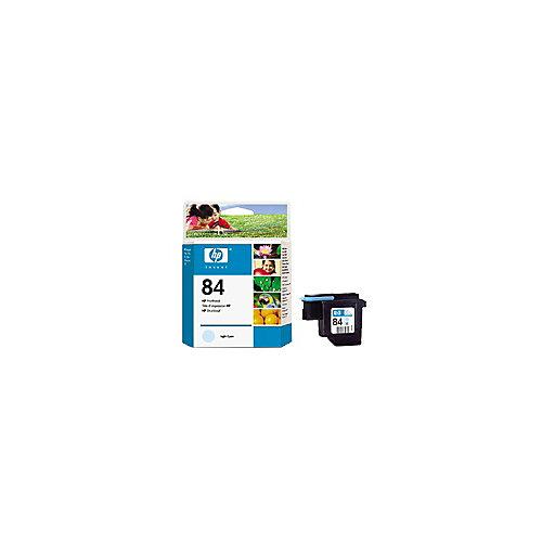 HP 84 - Inktcartridge / Licht Cyaan