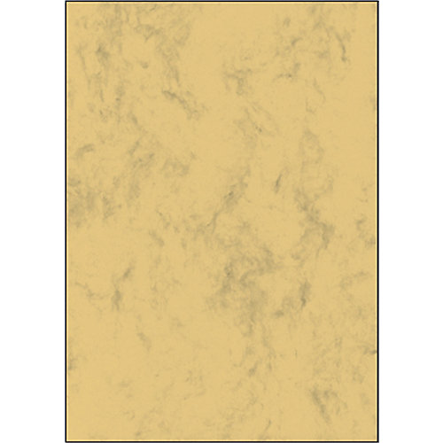 Sigel Briefpapier A4 90 g/m² 210x297 mm Marmer zandbruin 100 Vel