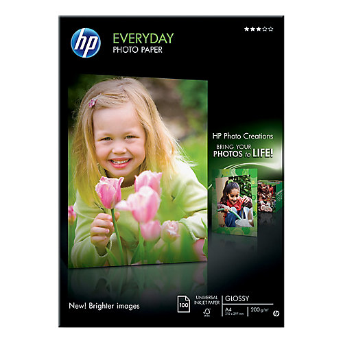 HP Fotopapier »HP everyday photo paper«