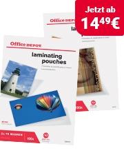 Office Depot® Laminiertaschen