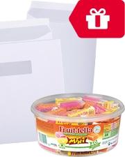 Gratis Fruittella Office Depot enveloppen
