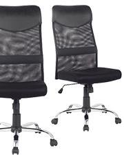 Slechts €39,99 niceday® Bureaustoel Mosil Zwart