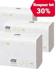 Vanaf €25,99 Tork papieren handdoeken