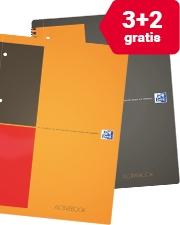 Nu slechts €36,99 Oxford gebonden notitieboek (pak 5 stuks)