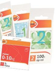 Vergeet  ze niet: Postzegels Altijd bij de hand