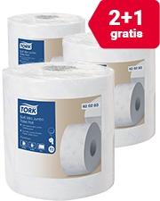2 + 1 Gratis Tork Mini Jumbo toiletpapierrollen