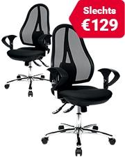 Bespaar €50 Topstar bureaustoelen