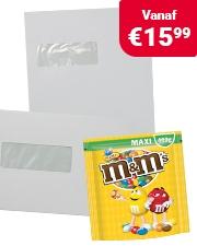 Gratis M&M Peanuts niceday® enveloppen