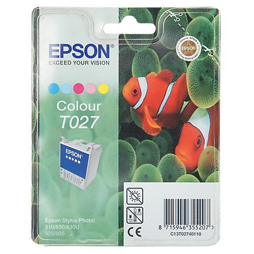 Epson T027401 Inkt Cartridge 3-kleuren