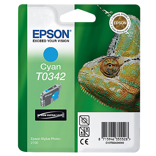 Epson T0342 - Inktcartridge / Cyaan