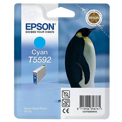 Epson T5592 - Inktcartridge / Cyaan