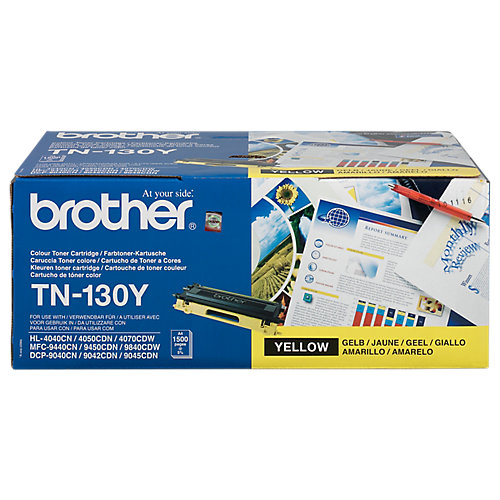 Brother TN-130Y - Tonercartridge / Geel