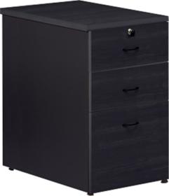 caisson de bureau noir. Black Bedroom Furniture Sets. Home Design Ideas