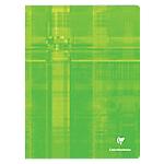 Grand cahier clairefontaine a4 24 x 32 cm grands carreaux 96 pages piqué coloris assortis