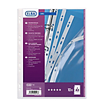10 pochettes perforées en PVC - Elba