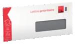 Enveloppes pré-timbrées La Poste Blanc - 100 Unités
