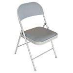 Chaises de conférence rembourées rs to go gris noir lot de 4
