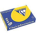 Ramette de papier de 500 feuilles clairefontaine trophée a4 80gm² bouton dor