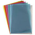10 pochettes à coin PVC 15/100 - Assorties