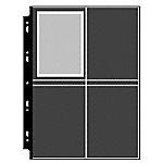 10 Pochettes photos 10x15cm fond noir + bristols de légende
