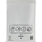 Pochettes kraft à bulles dair sealed air a4 38 h x 24 1 l cm 79 gm² blanc 50 paquet