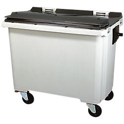Rossignol conteneur dchets 770 litres gris 1370 x for Conteneur maison nc