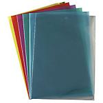 10 pochettes à coin PVC 15/100 - Vert