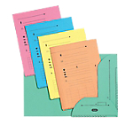 10 Chemises Kraft - L'Oblique AZ - CLASS10