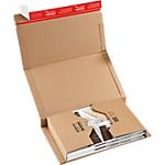 Étuis livres carton 10 h x 26 5 l x 38 p cm marron 20 paquet