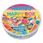 Bonbons assortis haribo happybox 600 g