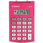 Calculatrice de poche canon as8 8 chiffres rose
