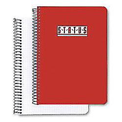 Cuaderno Durable Status rojo cuadrícula Folio 21 5 (a) x 31 (h) cm 70 g/m² 100hojas