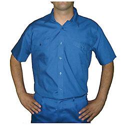 Oferta: Camisa manga corta azulina talla 40