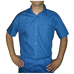 Oferta: Camisa manga corta azulina talla 42