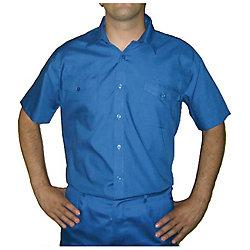 Oferta: Camisa manga corta marino talla 46