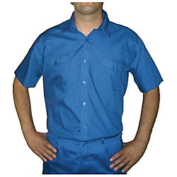 Oferta: Camisa manga corta blanca talla 48