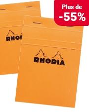 À partir de 0,60€ Bloc-notes Rhodia